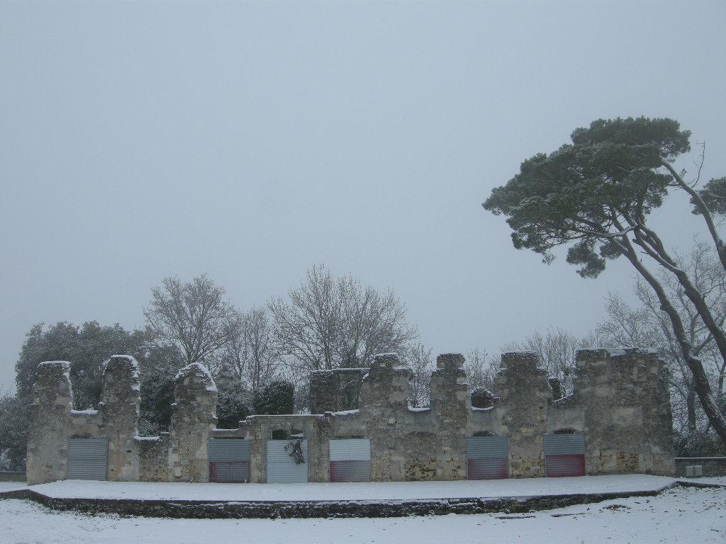 le chateau en hiver