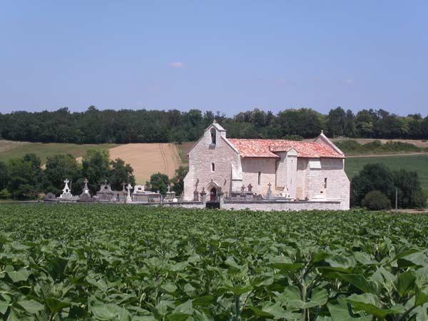église de Moulons, commune de Pommiers-Moulons